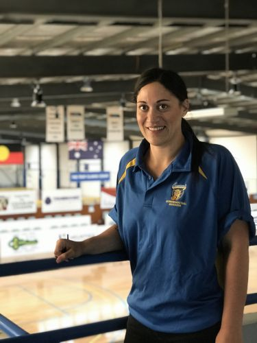 Cockburn Basketball's new operations manager Amiria Driscoll.