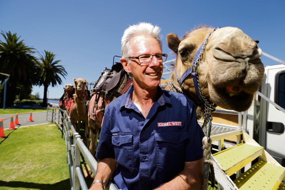Camel West owner Jon Warren. Photo: Andrew Ritchie