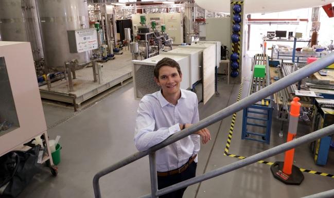 Murdoch environmental engineering student Daniel Hay-Hendry.