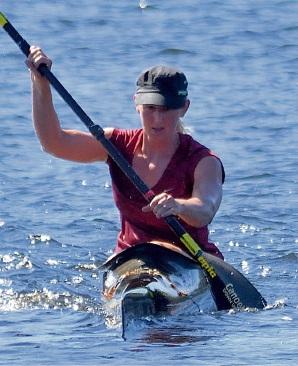 Women's class winner Samantha Pilton, of Swan View.