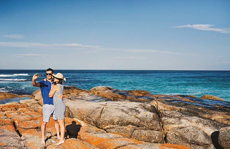Tasmania's Bay of Fires is a must-visit. Photo: EastCoastTasmania.com