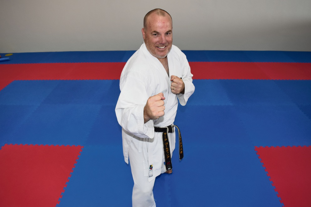 Gold Martial Arts head instructor Mark Golding.