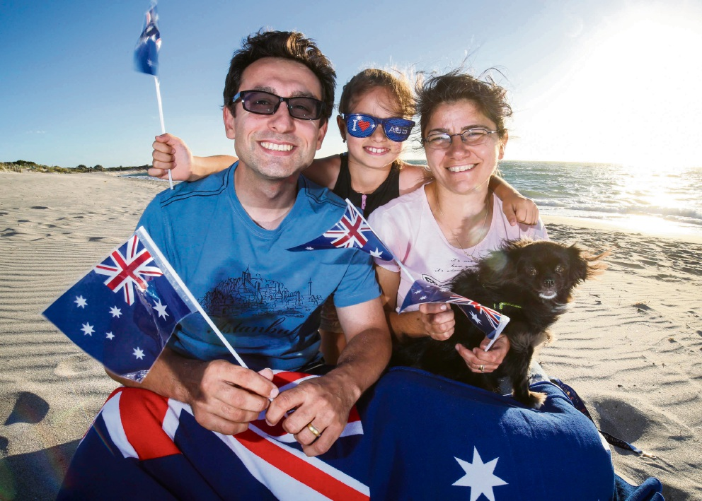 Australia Day: laid-back lifestyle inspires the Camnalburs of Cockburn to become Australian citizens