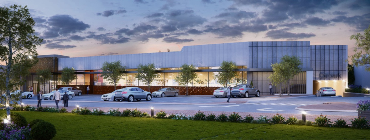 Artist impression of the proposed development at 264-270 Canning Highway, Como.