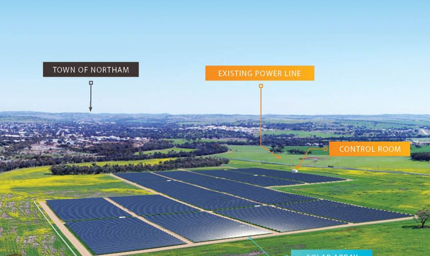 Northam Solar Farm on track for mid-year completion
