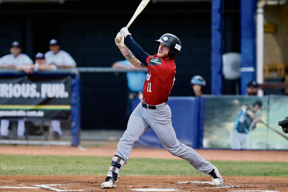 Perth Heat outfielder Jake Fraley is in the midst of a record-breaking season.