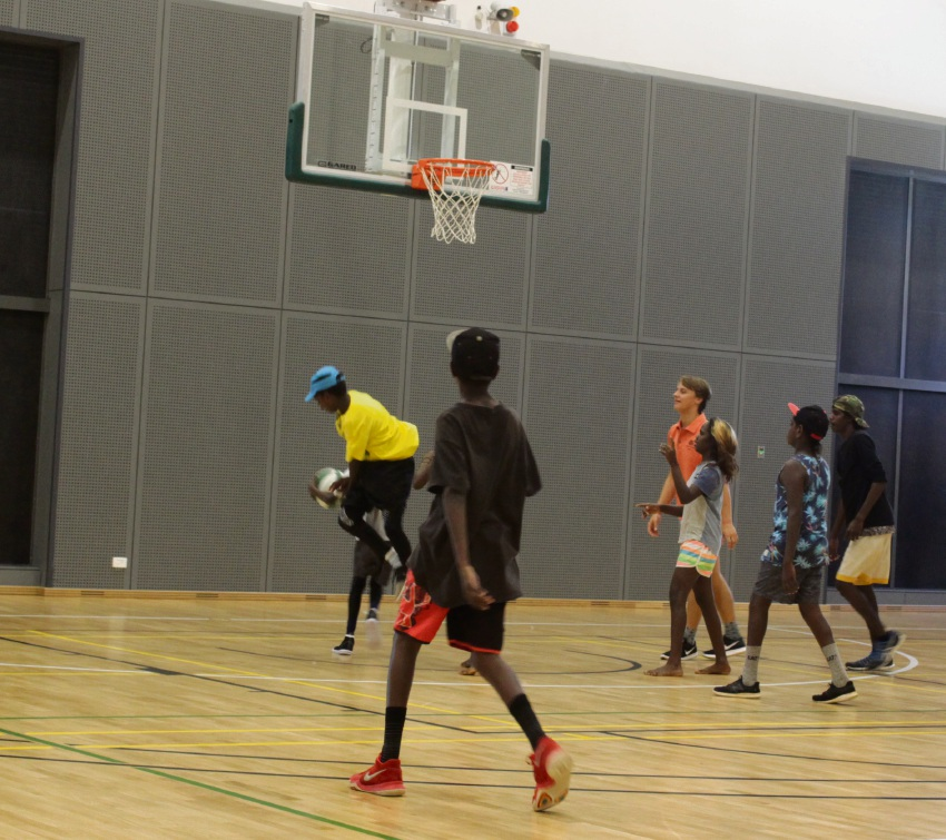 Indigenous Kids Get To Experience Thrill Of Sport At Hbf Arena Community News Group