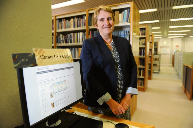 Worlds open up in the libraries run by Public Service Medal awardee Margaret Allen, recognised her work as State Librarian.  Picture: Jon Bassett.
