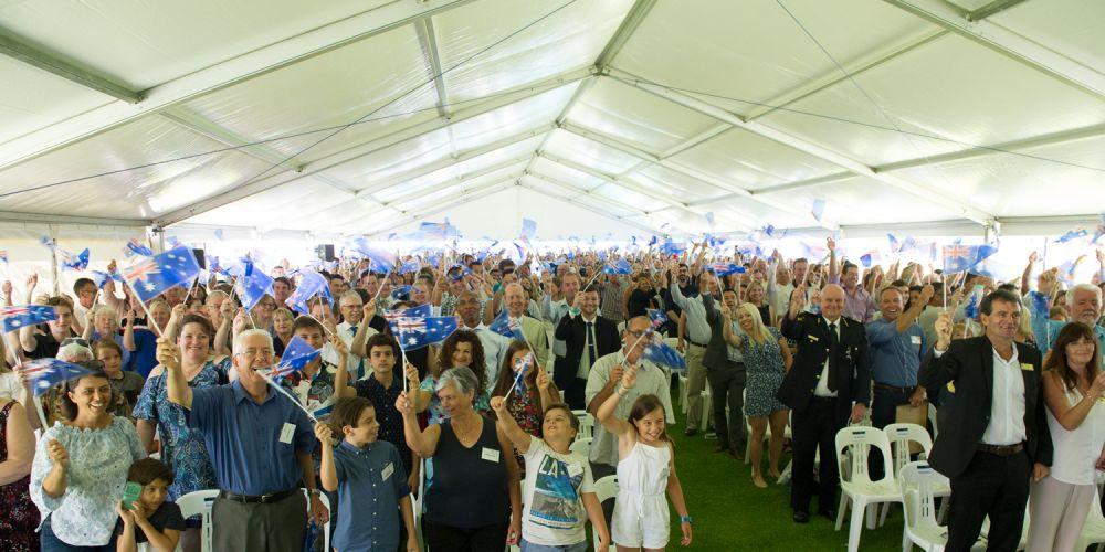 Joondlup Australia Day citizenship ceremony, Pictures: Stewart Allen