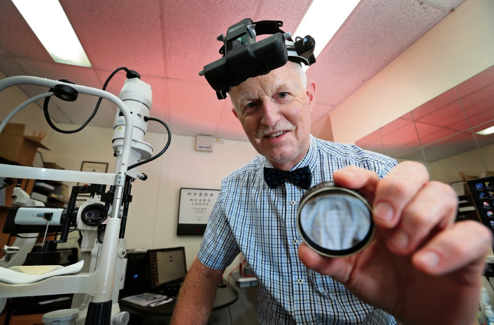 Cottesloe eye surgeon Ross Littlewood is a Member of the Order of Australia (AM) for leading the volunteer East Timor Eye Program.  Picture: David Baylis.
