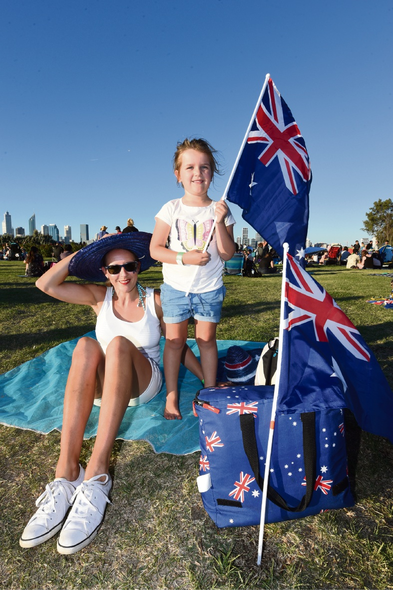 90,000 flock to South Perth foreshore for Australia Day festivities