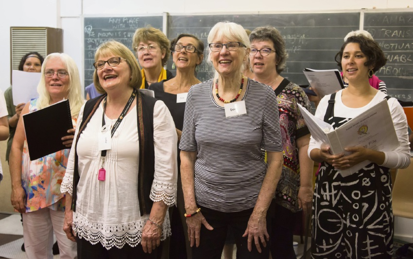 Madjitil Moorna Choir give voice to reconciliation in action.
