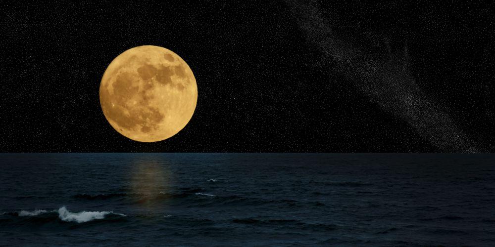 Big bad moon. Photo: iStock