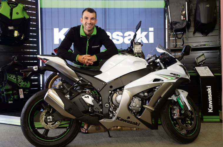 Motorbike racer Bryan Staring is the only West Aussie picked to ride for Kawasaki in the |Australia Superbike Championships. Picture: Martin Kennealey www.communitypix.com.au   d478226