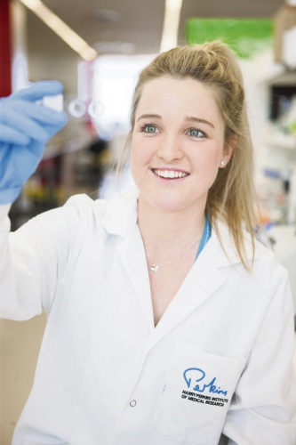 There's a sting to Ciara Duffy's cancer research.