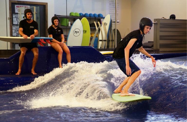 Aloha Surfhouse Australia S First Indoor Surfing Wave Pool