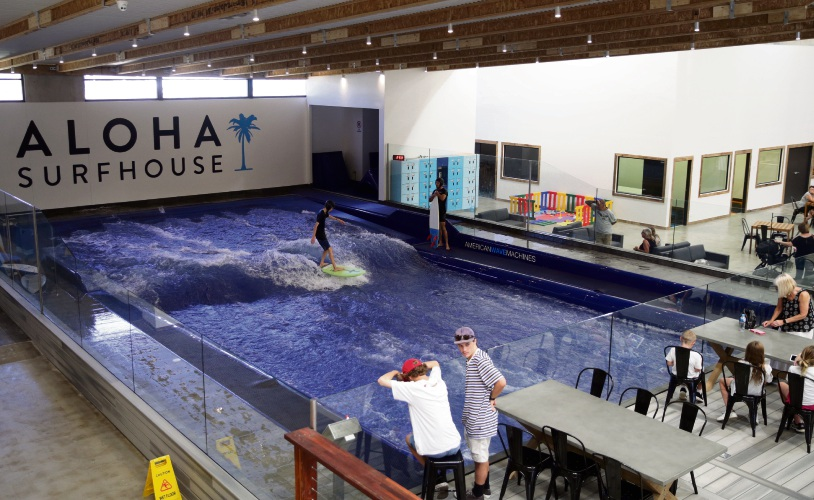 Aloha Surfhouse. Picture: Martin Kennealey.