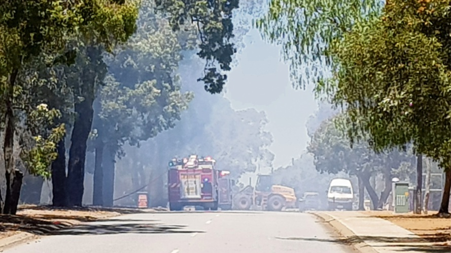 Trio of teens cautioned over Kalamunda bushfire