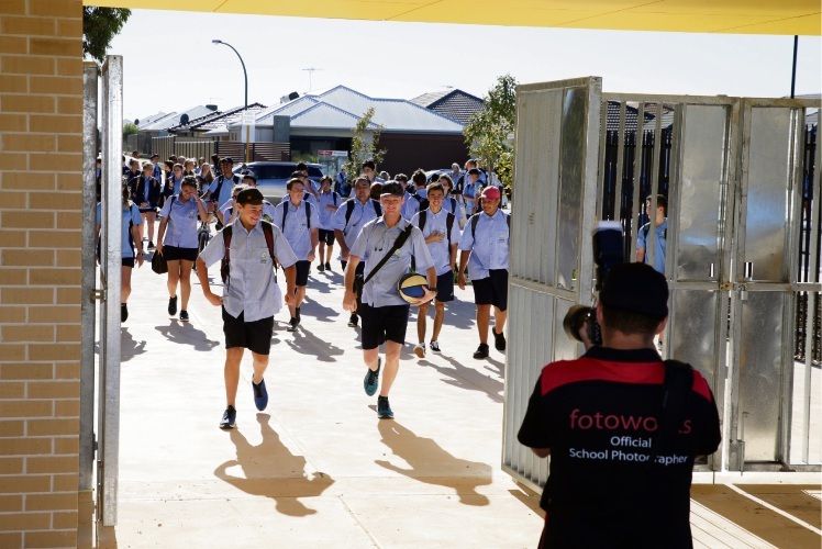 Yanchep Secondary College opens.