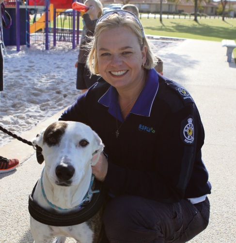 RSPCA WA community outreach co-ordinator Nat Foster.