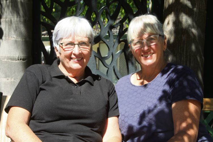 Patricia Powell and Eileen Giles.