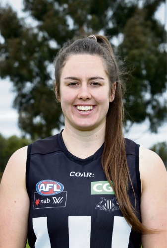 Collingwood defender and Thornlie product Caitlyn Edwards is hoping to walk out for the Magpies at Optus Stadium next weekend.