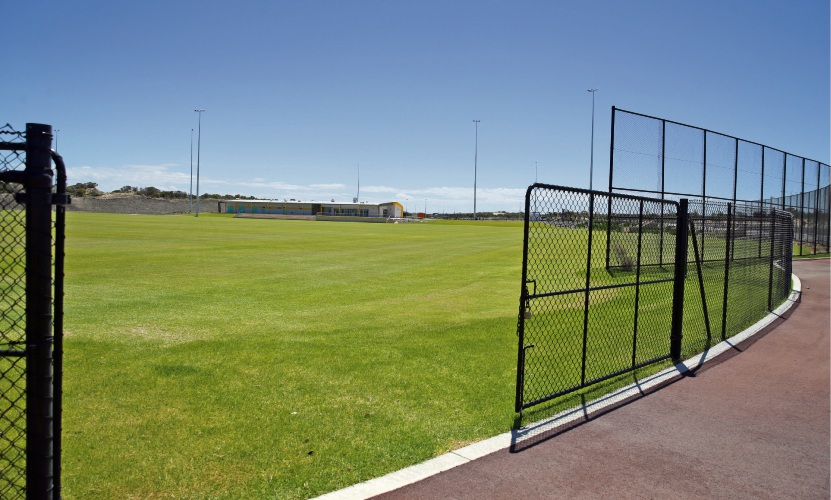 Yanchep playing fields. Photo: Martin Kennealey