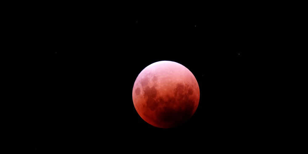 Super blue blood moon. Pic: Andrew Ritchie Community News