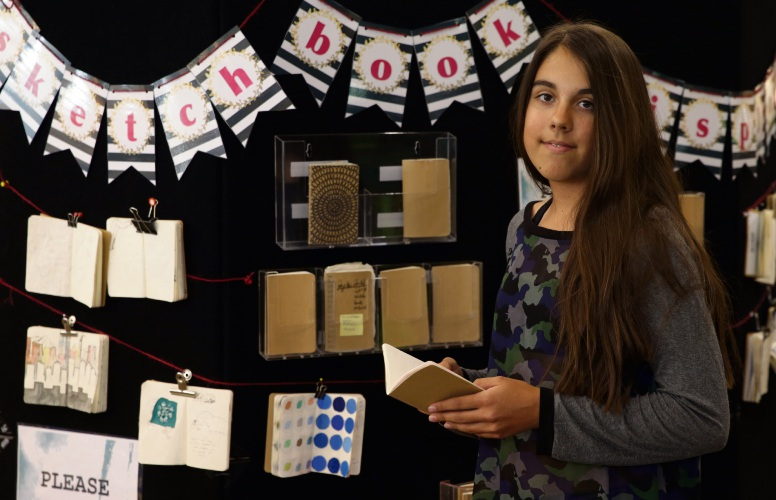 Travelling Sketchbook Exhibition lands at Joondalup Library