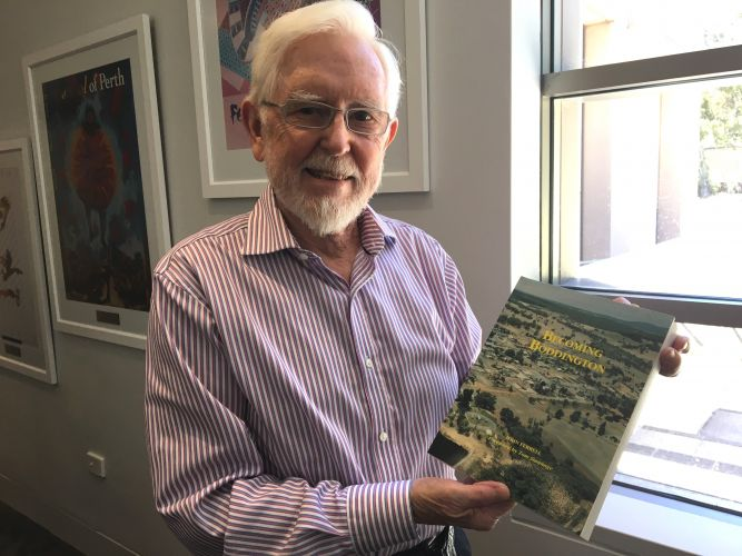 John Ferrell from Mt Claremont has been recognised for his service to community history in WA with an OAM.