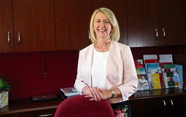 Santa Maria College Principal Jennifer Oaten.