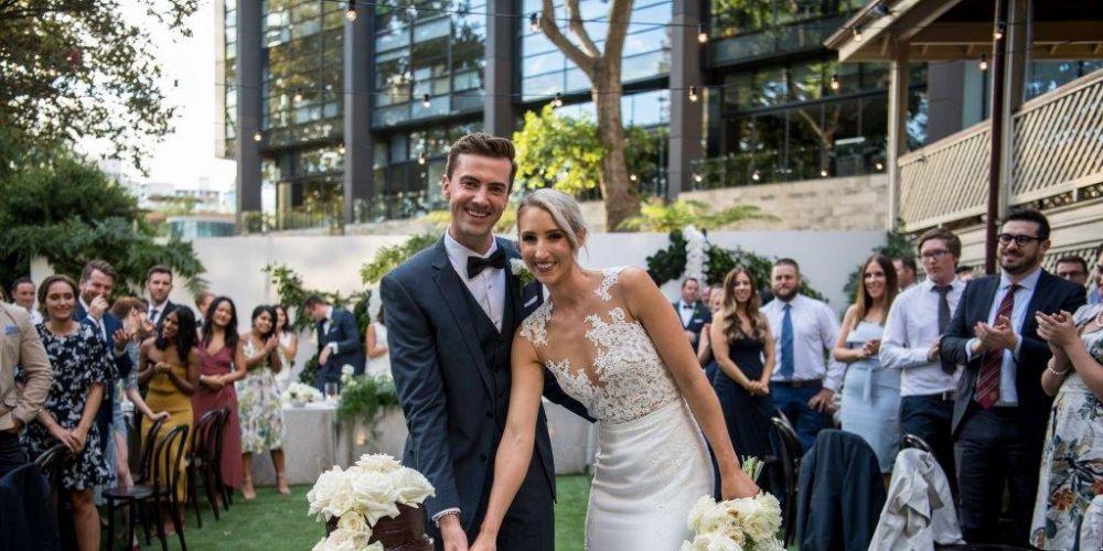 Zak Kirkup and Michelle Gadella.