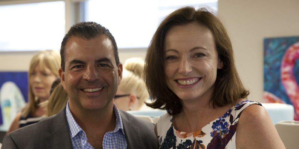 Mark Irwin and Sue Viskovic. Picture: Boris Viskovic