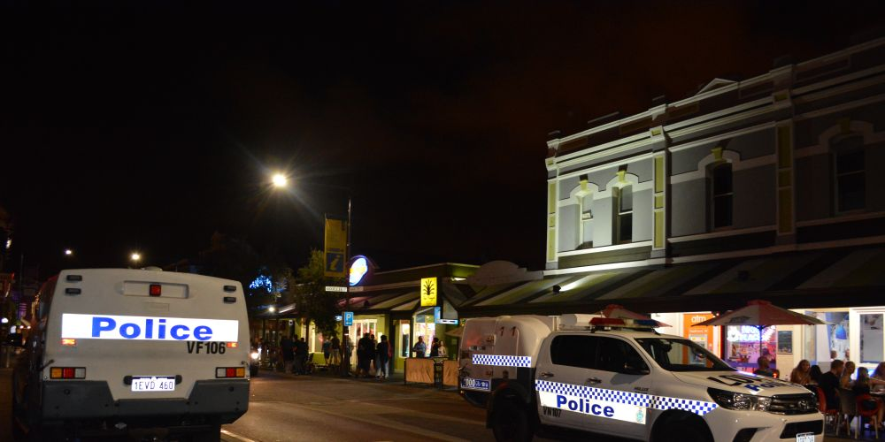 Turning a corner on the strip: a night on patrol with Fremantle and Cockburn police
