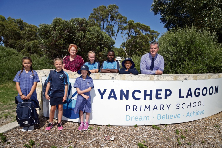 Yanchep District High School now called Yanchep Lagoon PS