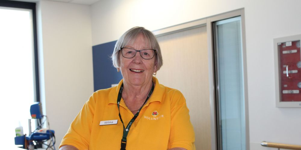 VITAL volunteer Willemina Achterkamp is supporting patients at Midland hospitals. Picture: Supplied