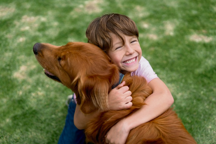 Children can be a pet's prime source of entertainment.