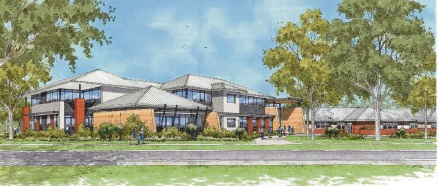 Artist impression of the proposed International School of WA in Doubleview.