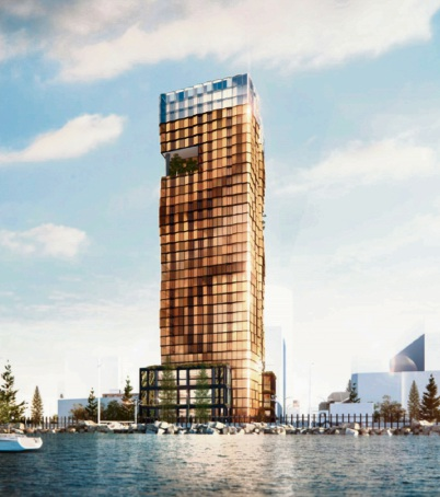 Artist impression of development for 50-52 Melville Parade, South Perth.