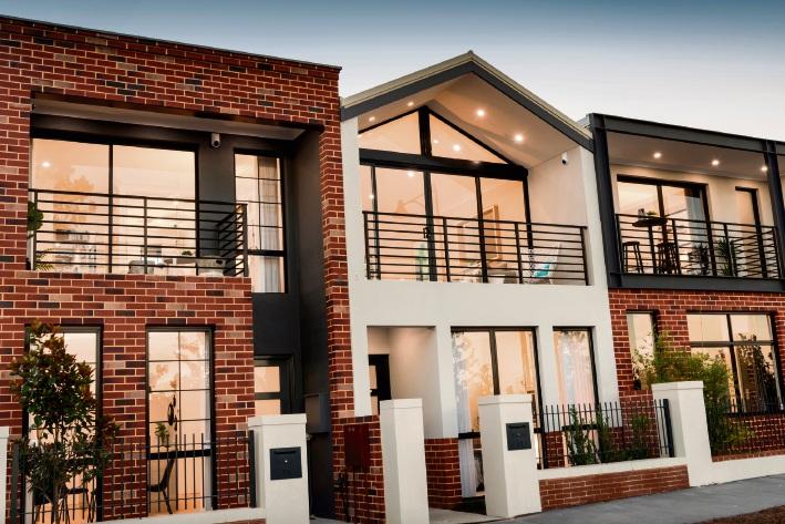 Terrace homes in Ellenbrook.
