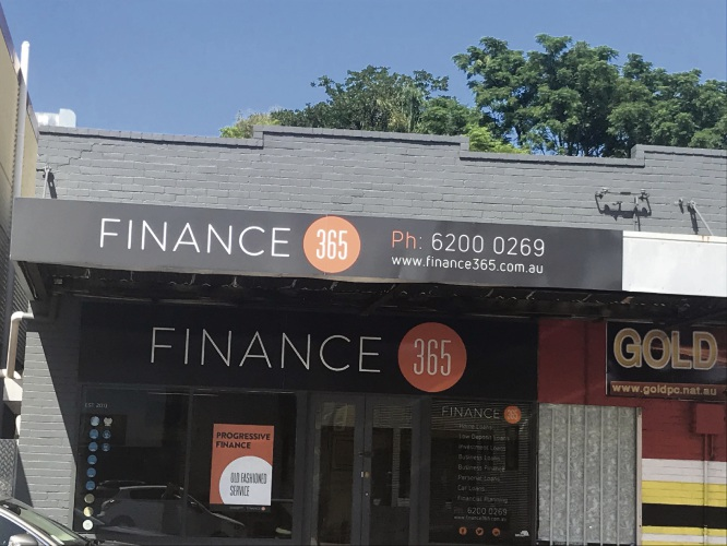 Finance 365's Bayswater branch.