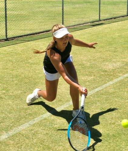 Cottesloe tennis player Maddison Inglis.