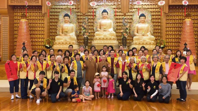 Maylands' Fo Guang Shan Temple spreading luck and prosperity for Chinese New Year
