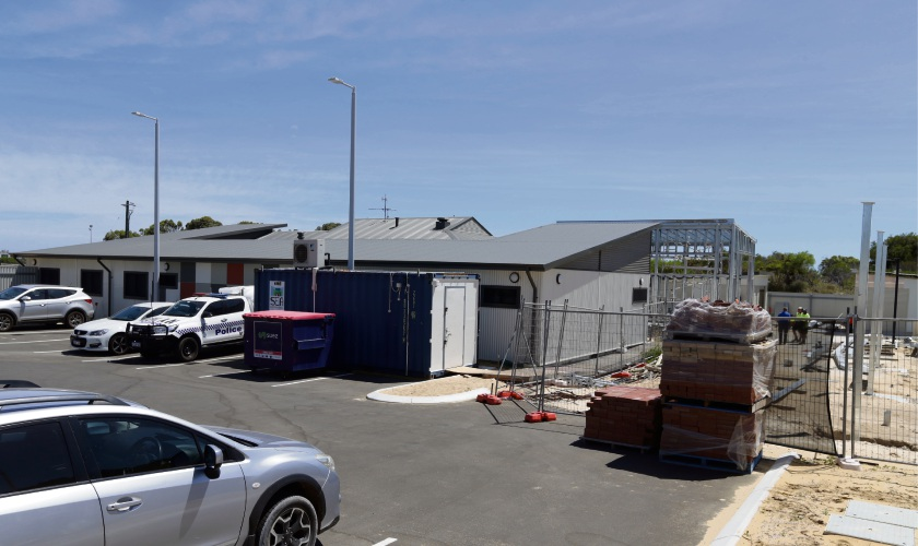 Yanchep Police Station. Picture: Martin Kennealey d479234