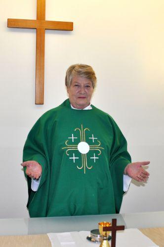 Reverend Lyn Harwood.