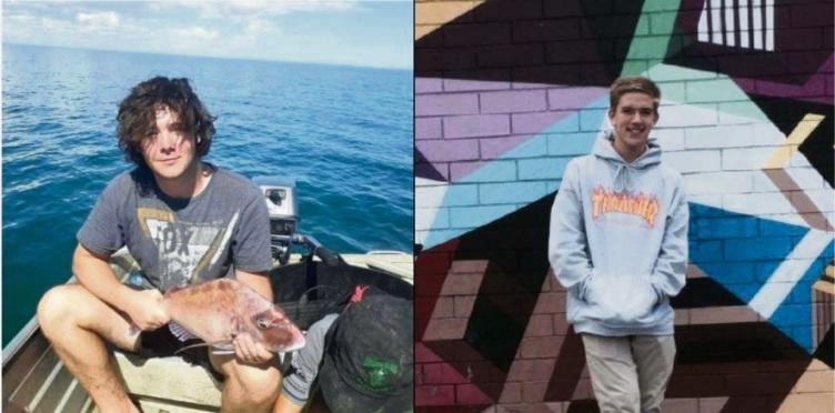 Mason Hooten and Callum Mummery were killed in the crash.