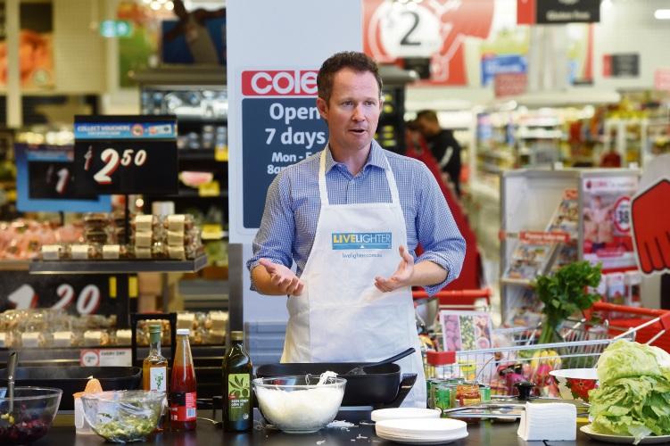 Dietitian Nick Nation. Picture: Jon Hewson www.communitypix.com.au d479331