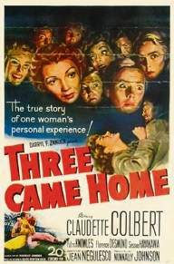 Film poster for Three Came Home (1950).