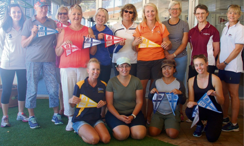 Women took the helm in Hillarys Yacht Club's annual ladies skippers' race and showed some impressive skills.
