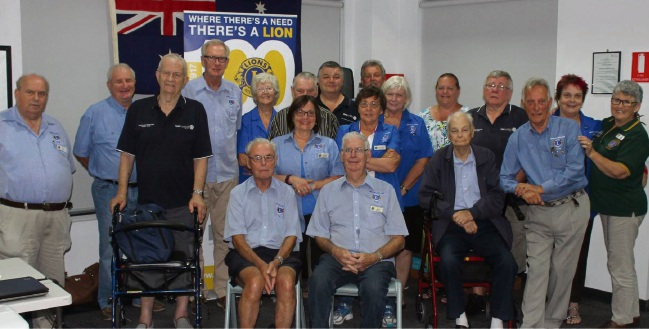 Lions Club members set to celebrate its 100th anniversary.